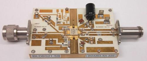 新款全集成doherty功率放大器采用即插即用设计,可以像标准ab级晶体管