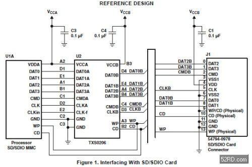 从而能显著简化电路板的设计,进而减少所需引脚数.