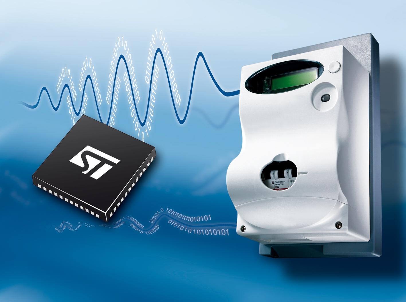 意法半导体的技术获选用于西班牙电子式电表