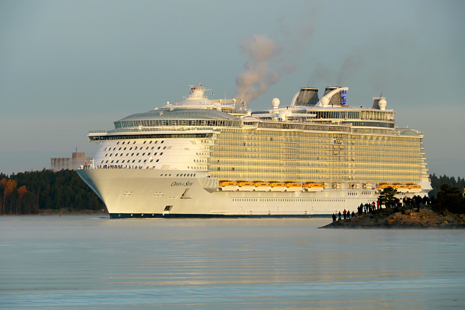 What Is The Biggest Cruise Ship In The World Today