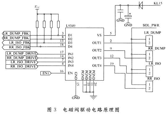 电磁阀驱动电路原理图见图3