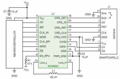 在智能电表中的应用电路图.