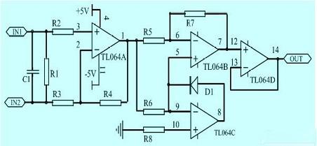 剩余电流检测电路