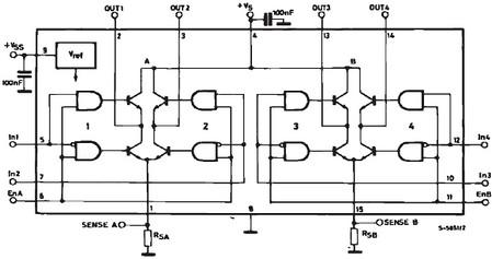 l298pwm控制电路图